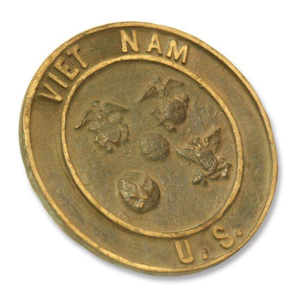 Metal Vietnam Plaque