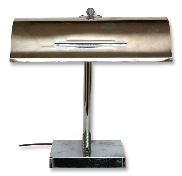 Chrome Deco Lamp