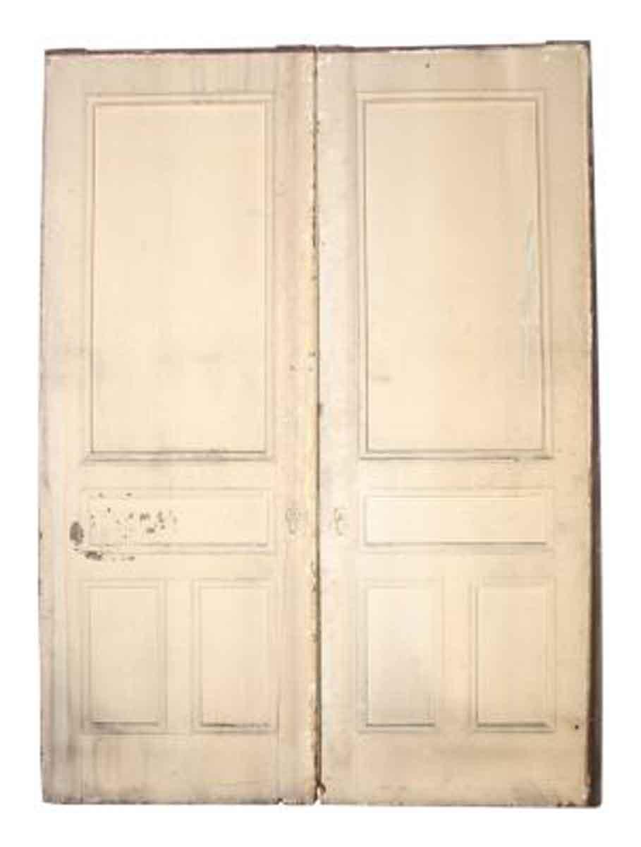 Large eastlake pocket doors with half glass panel olde for Interior pocket doors with glass panels