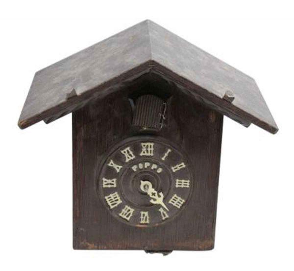 Antique Wooden Cuckoo Clock