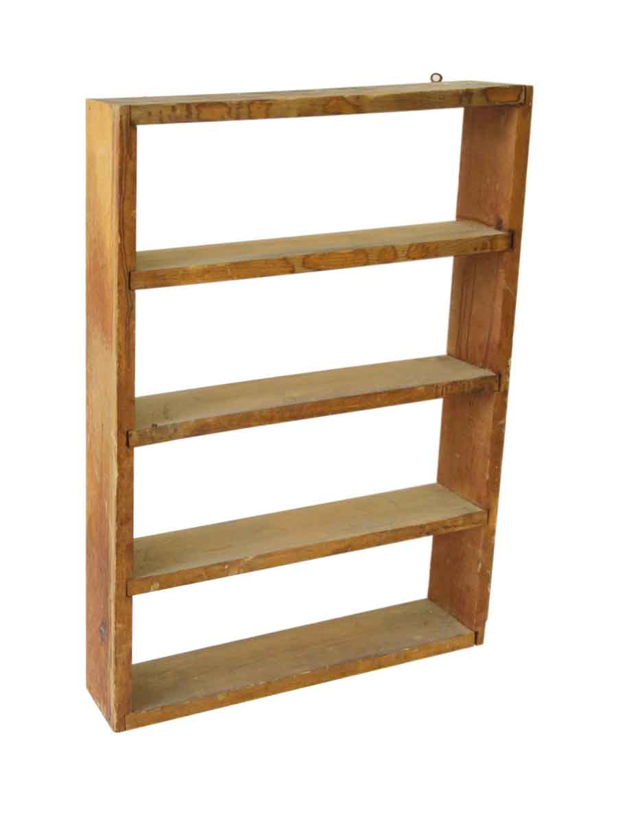 Simple Wooden Shelf Unit Olde Good Things