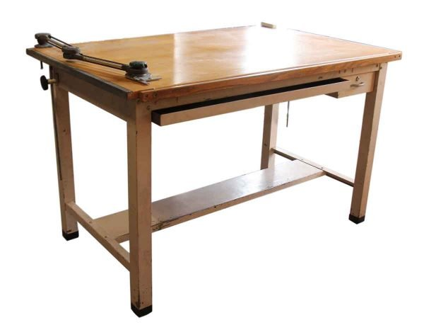 Vintage Salvaged Drafting Table
