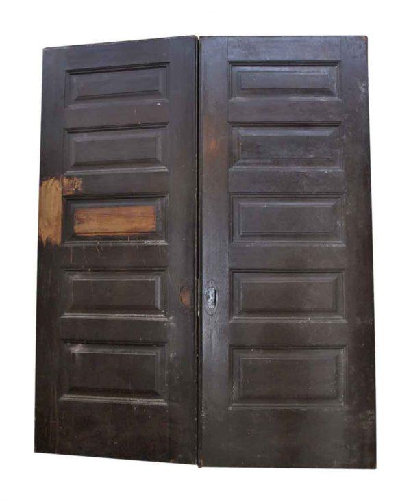 Salvaged Pair of Pocket Doors