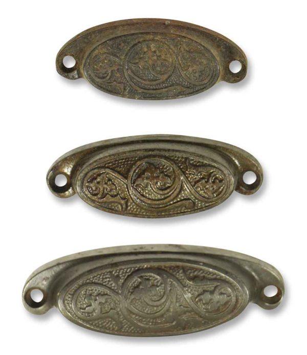 Set of Three Bin Pulls