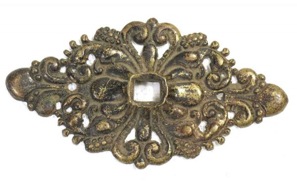 Worn Decorative Brass Applique