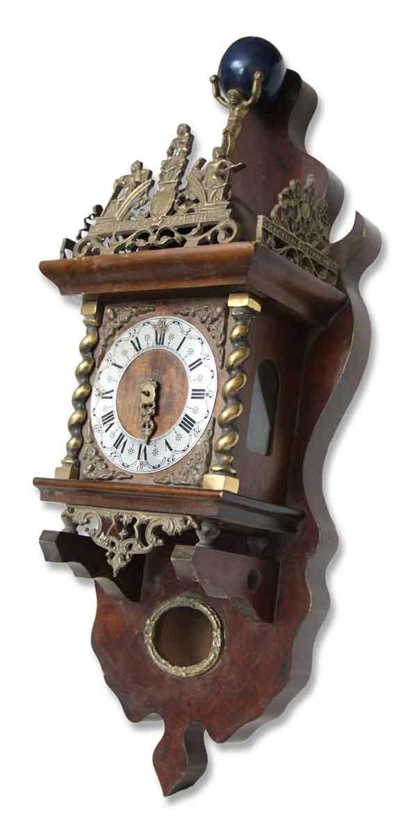 Ornate Antique Hanging Clock Olde Good Things