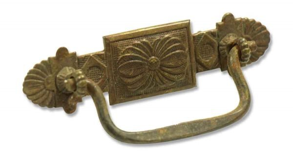 Single Brass Victorian Pull