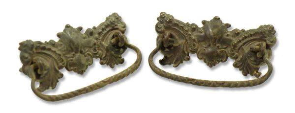 Pair of Brass Victorian Pulls
