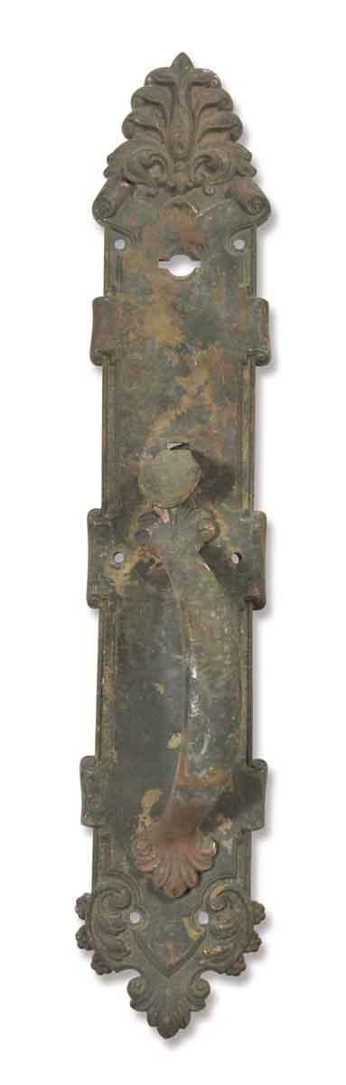 Worn Bronze Door Pull