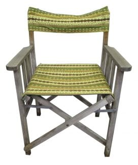 Green Exterior Chair Set