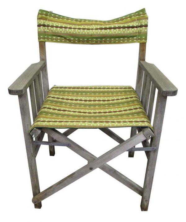 Green Exterior Chair Set