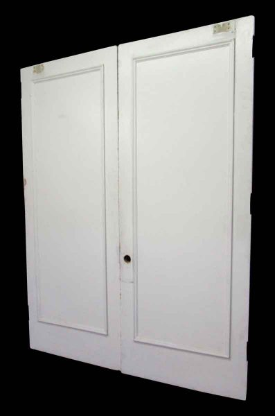 Set of Tall Single Panel Doors in White