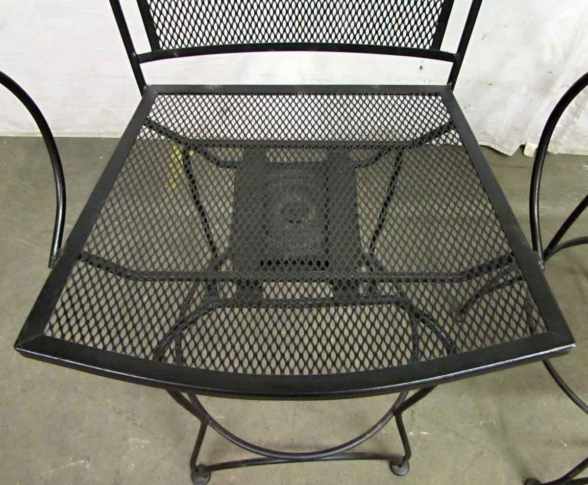 Tall Wrought Iron Swivel Chairs Olde Good Things