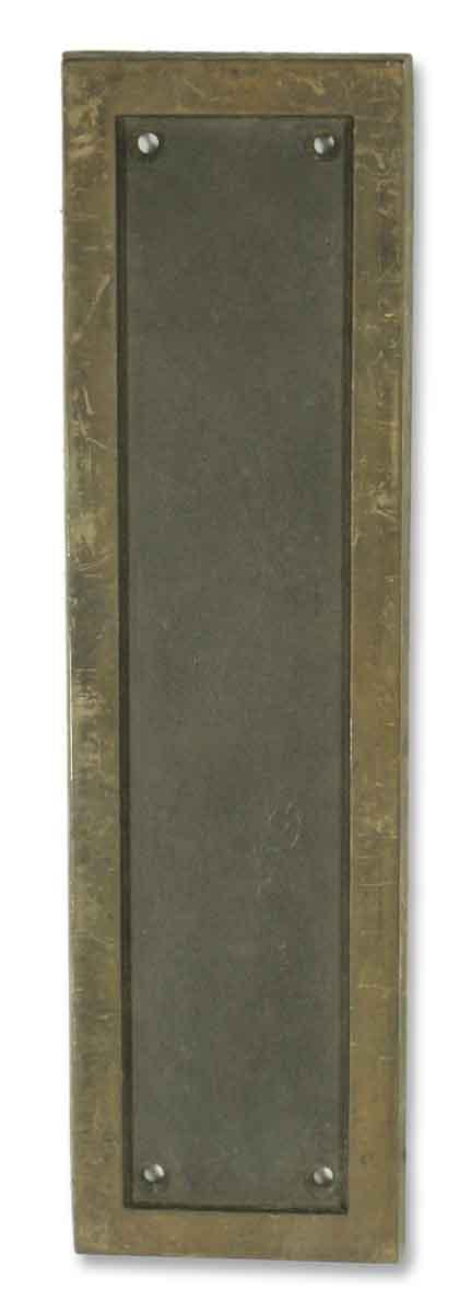 Corbin Bronze Push Plate