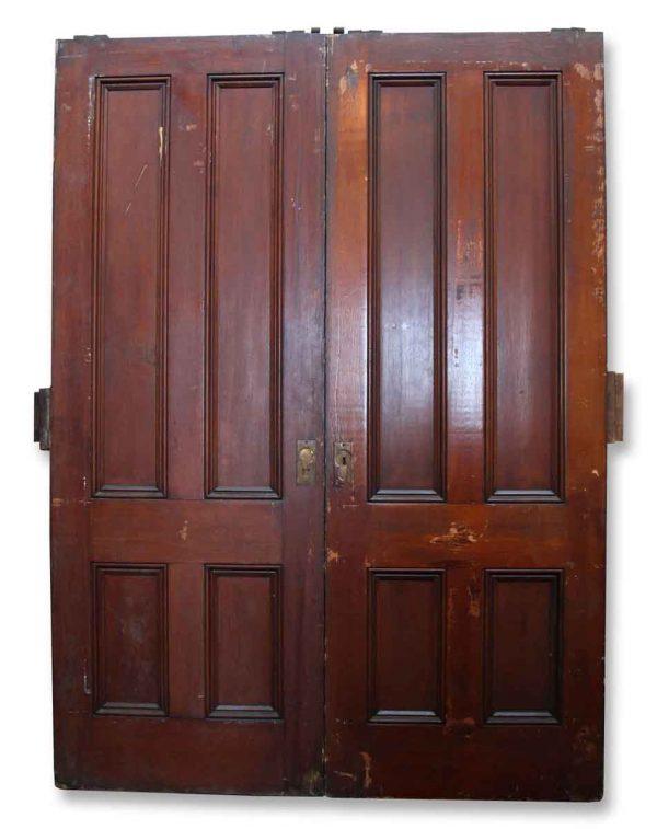 Pair of Double Pocket Doors