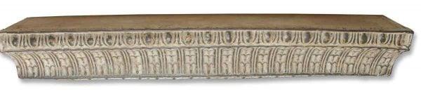 Antique White Handmade Tin Shelf