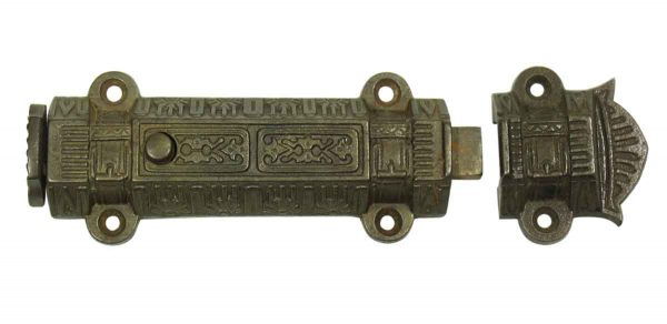 Ornate Victorian Surface Bolt
