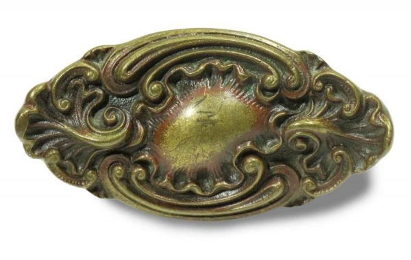 Collector's Quality Ornate Bronze Lever Knob