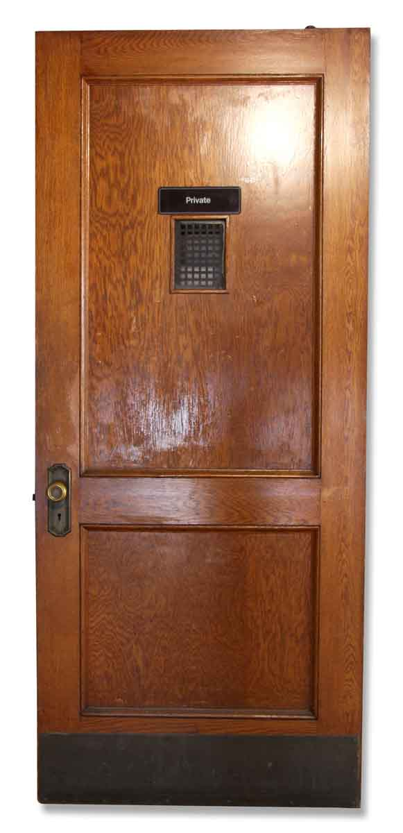 Antique Oak Office Doors