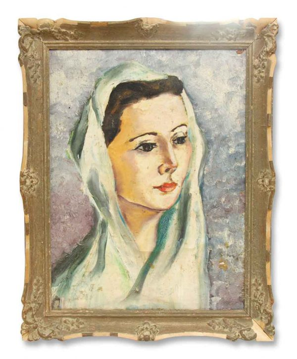 Pretty Painted Portrait