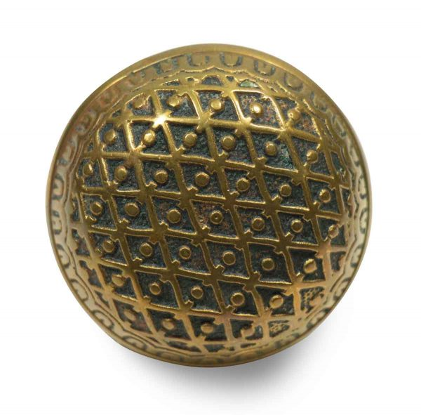 Collector's Quality Round Bronze Knob