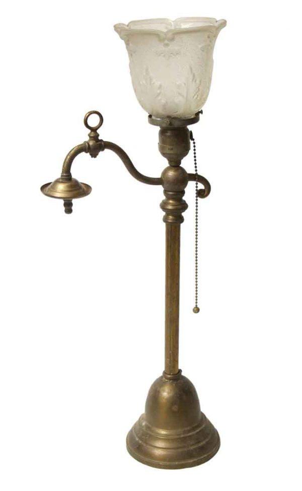 19th Century Converted Gas Pendant Light
