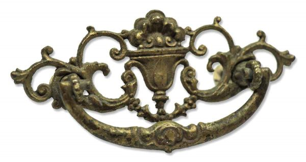 Pair of Brass Ornate Drawer Pulls