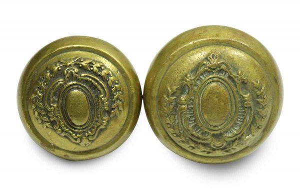 Brass Ornate Collectors Quality Entry Knob Set
