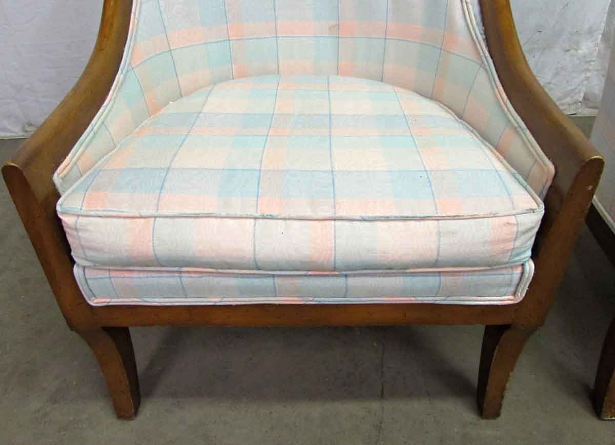 Pair Of Cube Accent Chairs Olde Good Things