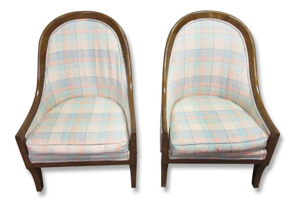Pair of Cube Accent Chairs