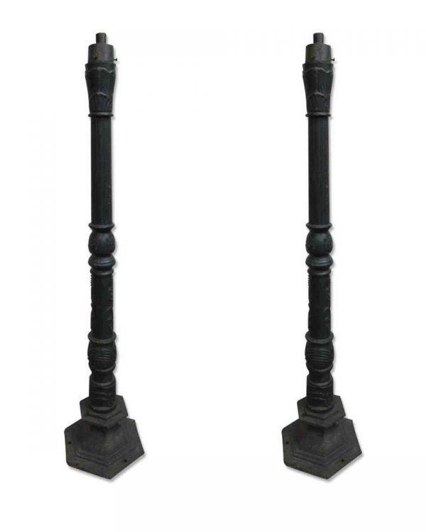 Ornate Cast Iron Lamp Posts
