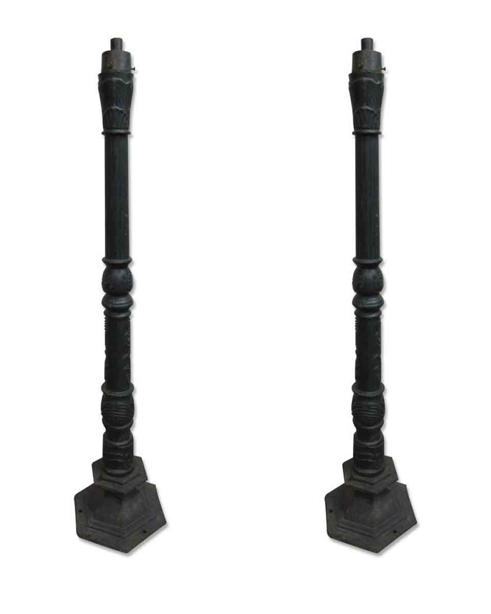 Ornate Cast Iron Lamp Posts | Olde Good Things
