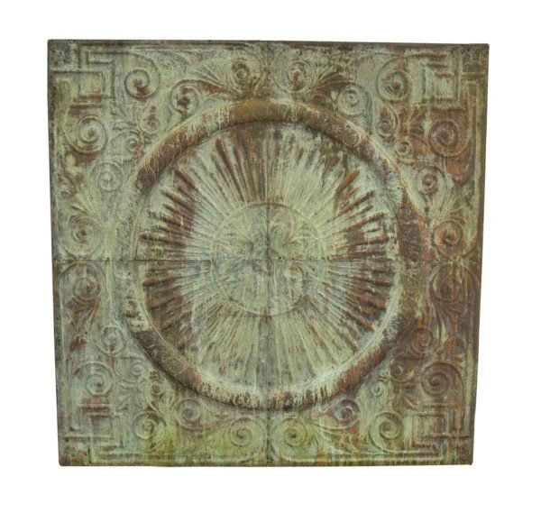 Large Decorative Copper Panel