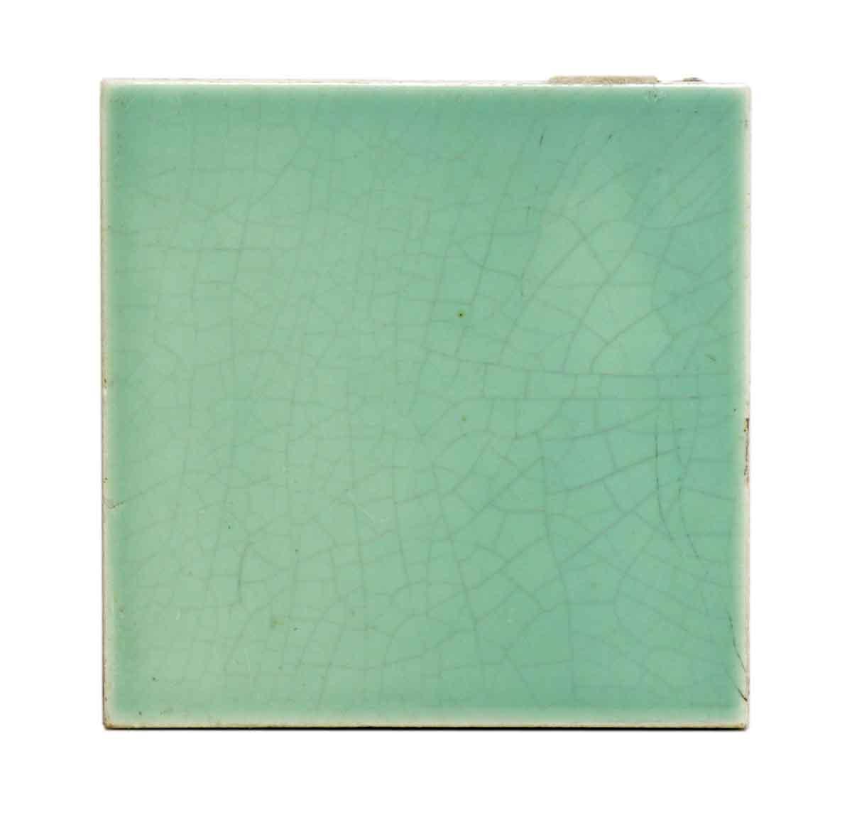 Set Of Mint Green Ceramic Tiles Olde Good Things