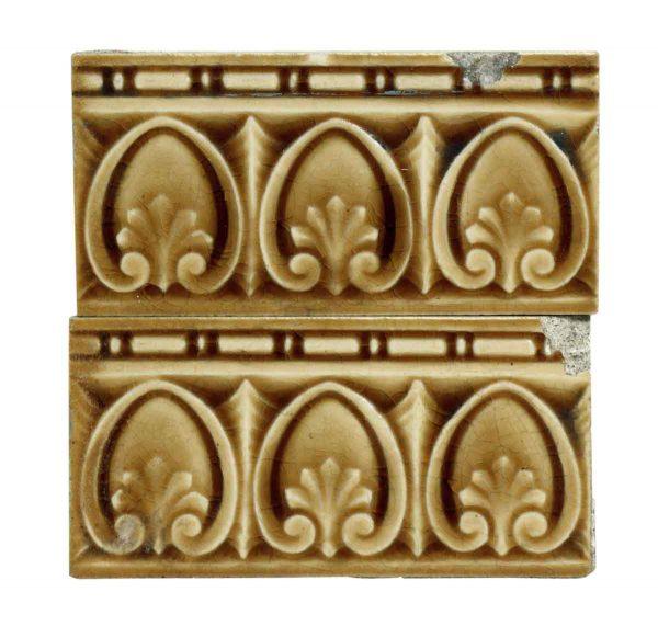Set of Brown & Beige Decorative Subway Tiles