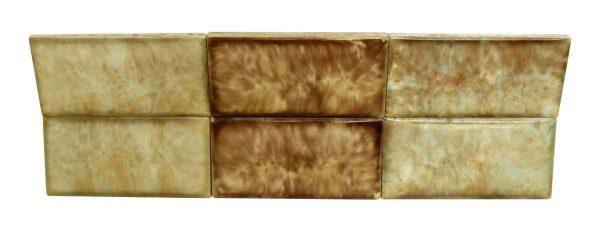 Set of 40 Decorative Ceramic Tiles