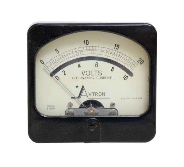 Avtron Vintage Milliamperes Dc Test Meter