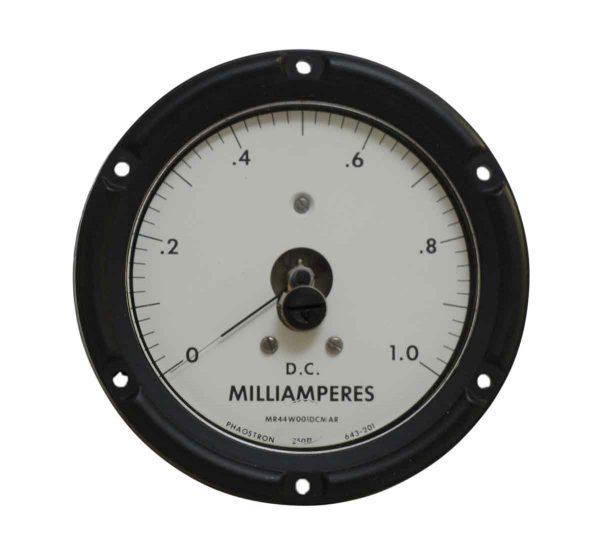 Vintage Milliamperes Dc Meter