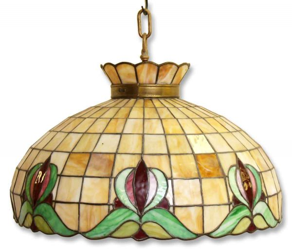 Large Stained Glass Fixture