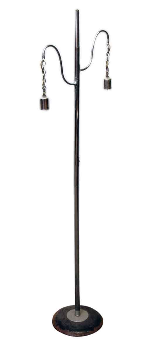 Chrome Mid Century Floor Lamp