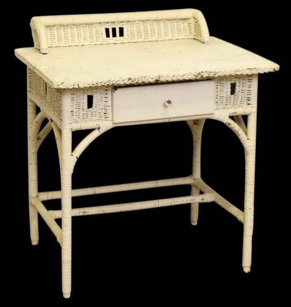 Wicker Desk or Vanity