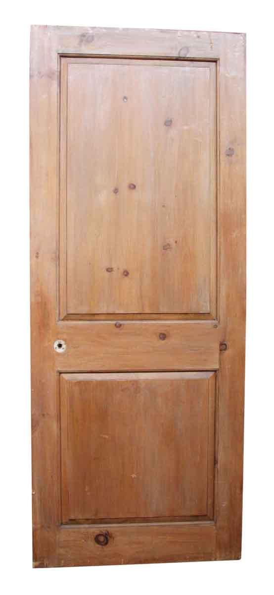 Single Wooden Two Panel Door