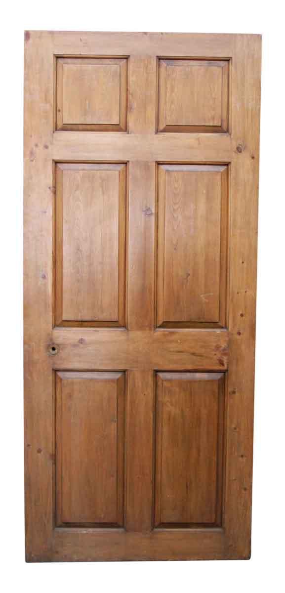 Wooden Six Panel Door