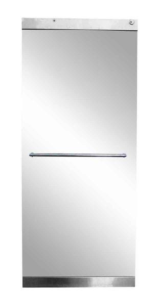 Single Glass Door with Push Bar