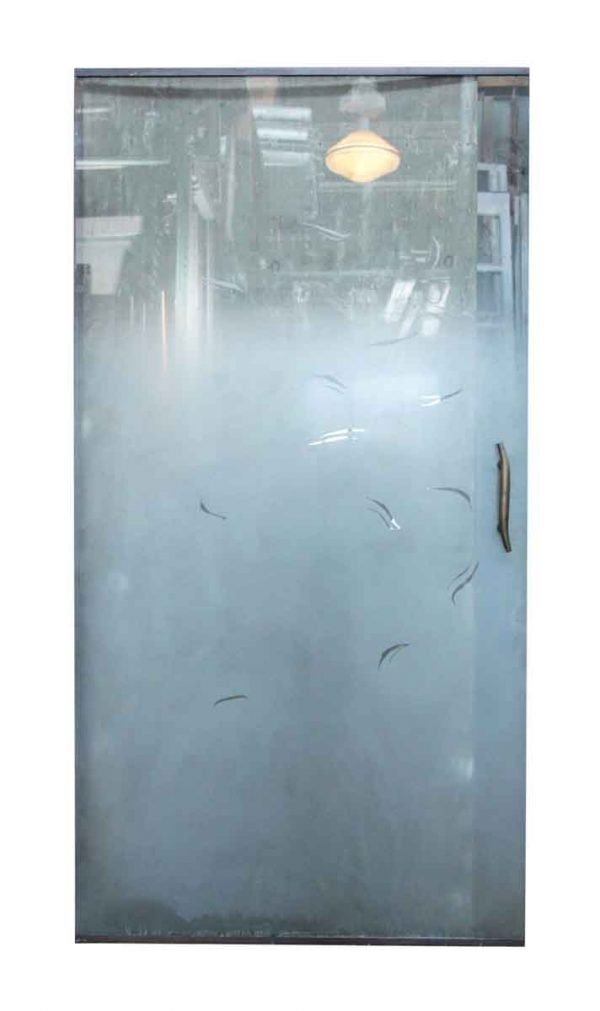 Single Frosted Glass Door