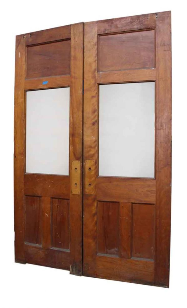 Pair of Double Doors with Glass