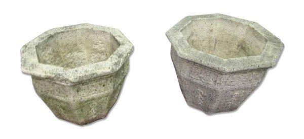 Cement Flower Vases