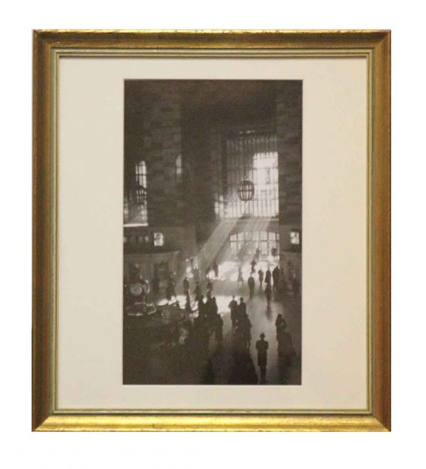 Reprint Photo of Grand Central Station Signed by George Daniell