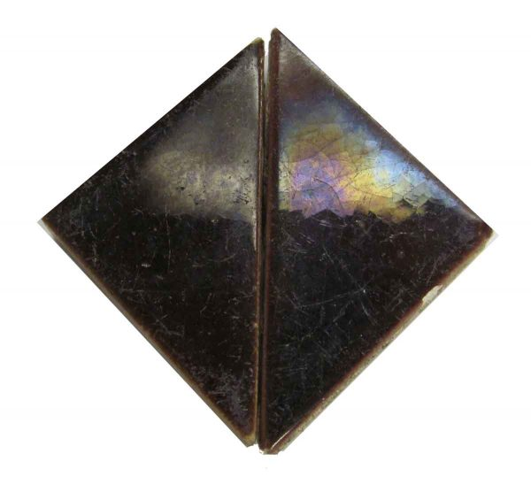 Brown Triangle Tile Set