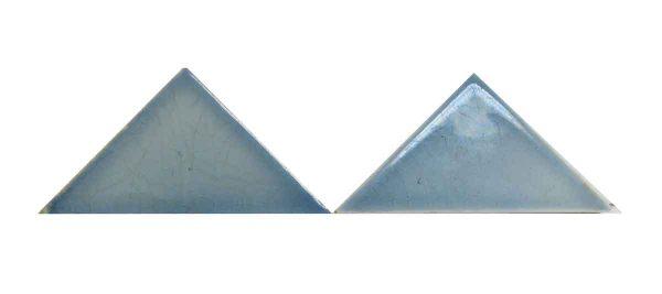 Blue Light Triangle Tiles